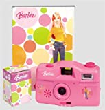 Barbie CJ 130 BB Kamera (35 opt. Zoom) mit Digitaler Bilderrahmen pink