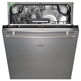 Scholtes LTE M812 L lave-vaisselle - laves-vaisselles (Entièrement intégré, A, A++, Noir, LCD, A)