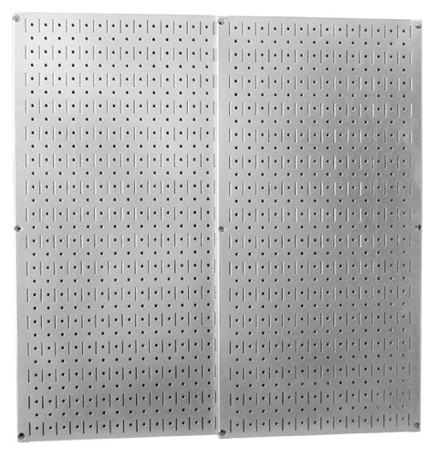 Images for Wall Control 30-P-3232GV Galvanized Steel Pegboard Pack