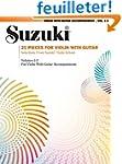 Suzuki: 21 Pieces for Violin With Guitar