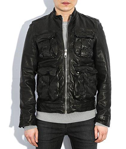 wiberlux-neil-barrett-mens-zip-up-leather-field-jacket-m-black