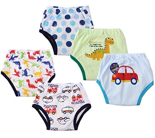 Dimore Baby Toddler 5 Pack Assortment Cotton Training Pant discount price 2015