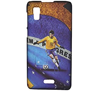 Expertdeal Printed Night Glow Matte Finish Micromax A102 Canvas Doodle 3 Mobile Back Cover Case Cover