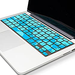 Kuzy Keyboard Circles Silicone Cover Skin for MacBook Pro 13