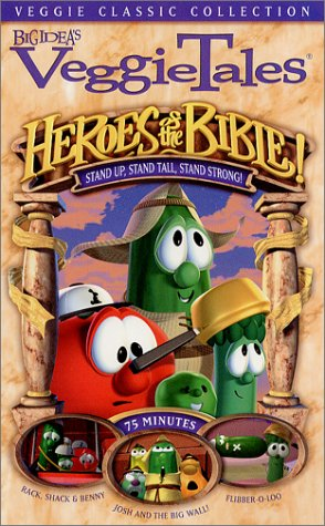 VeggieTales - Heroes of the Bible - Stand Up, Stand Tall, Stand Strong! [VHS]