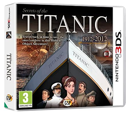 Secrets of the Titanic 3DS (Nintendo 3DS)