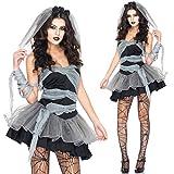 Vampire Damen cosplay kostuem Schwarz Halloween