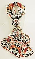Qing Dynasty Silk Scarf.