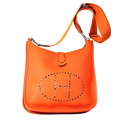 Hermes Women's Leather Evelyn Cross Body