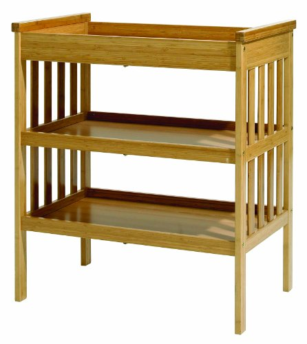 East Coast Nursery Bamboo Open Dresser