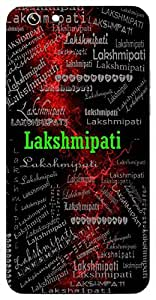 Lakshmipati (Husband Of Lakshmi ( Lord Vishnu)) Name & Sign Printed All over customize & Personalized!! Protective back cover for your Smart Phone : Samsung Galaxy A-5