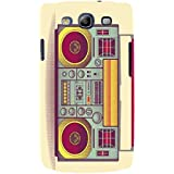 For Samsung Galaxy S3 I9300 :: Samsung I9305 Galaxy S III :: Samsung Galaxy S III LTE Old Radio ( Old Radio, Vintage Radio, Radio, Yellow Background ) Printed Designer Back Case Cover By FashionCops