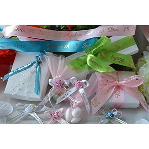 100 personalized custom printed ribbons weddings bridal baby showers