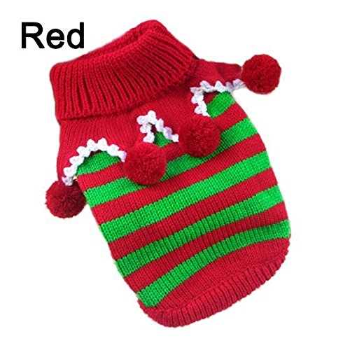 Blueberry Pet Dog Clothes Vintage Reindeer - Dog sweaters for the holidays who knew outfit your dog for the