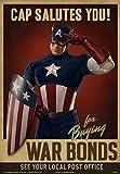 eFx Captain America Cap Salutes You Movie Prop Poster