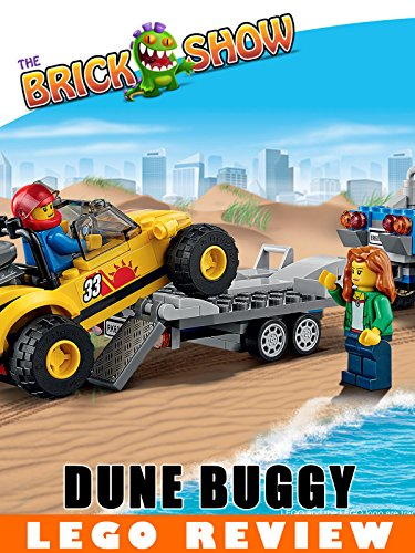 LEGO City 2015 Dune Buggy Trailer Review LEGO 60082