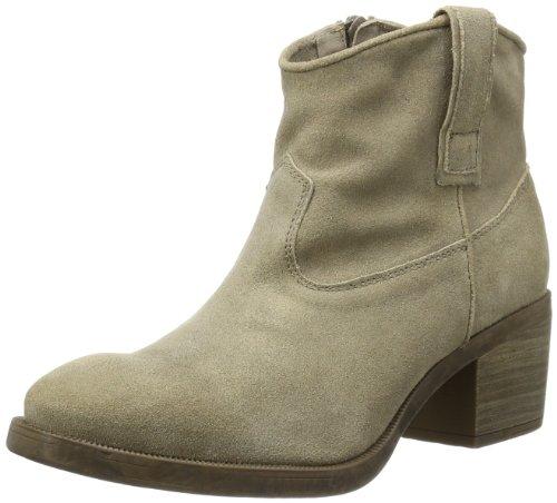 Unisa Womens GIGI_BM Cowboy Boots Beige Beige (PEWTER) Size: 38