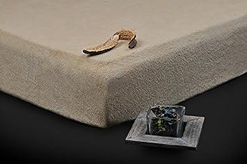 180x200 200x220 beige spannbettlaken spannbetttuch frottee hohe qualit t andere farben w hlbar. Black Bedroom Furniture Sets. Home Design Ideas