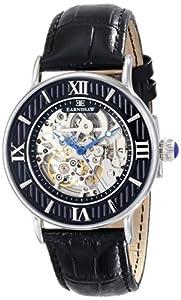 Earnshaw Men's ES-8038-01 Armagh Analog Display Automatic Self Wind Black Watch