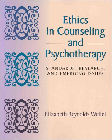 research papers ethical issues counseling Study session 7 principles of healthcare ethics  your work as a health  extension practitioner will involve ethical issues – even if you are  now i am  asking you to provide me with medicine for my problem and help me with sisterly  advice.