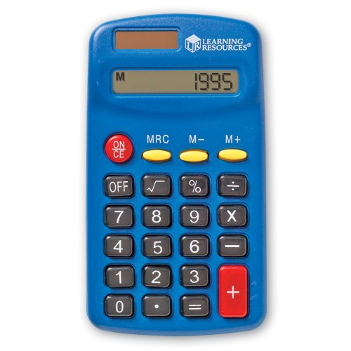 Learning Resources Primary Calculator