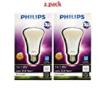 2 Pack Philips 424381 11-watt A19 LED Household Dimmable Light Bulb, Soft White (880 Lumens) Discount