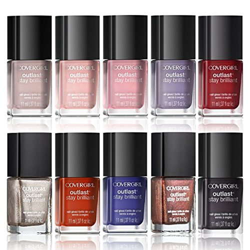 CoverGirl-Outlast-Stay-Brilliant-Nail-Gloss-Color-Set-10-Piece-Collection