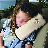 ElecMotive Schlafkissen Nackenstütze für Kinder Auto Baby Kind Sicherheitsgurt Autositz