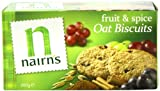 Nairns Fruit and Spice Biscuits 200 g (Pack of 10)