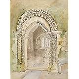 Chancel Arch, St.Peter's Church, Stanton Low, by John Piper (V&A Custom Print)