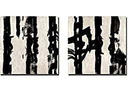 Here and Now III & IV by Max Hansen 2-pc Custom Gallery-Wrapped Canvas Giclee Art Set (Ready to Hang)