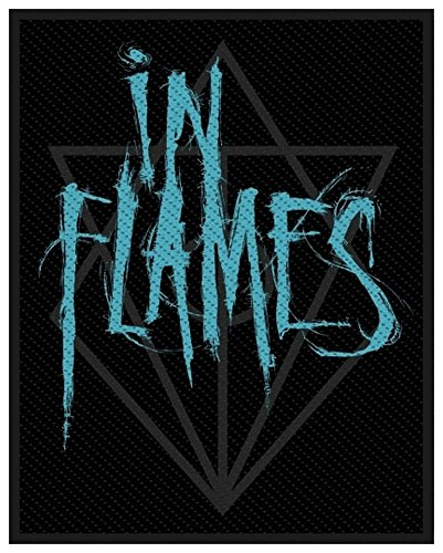In Flames Scratched Logo Toppa Standard