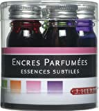 J.Herbin 12002T Small Bottles of Ink Perfumed 10 ml Pack of 5 Assorted