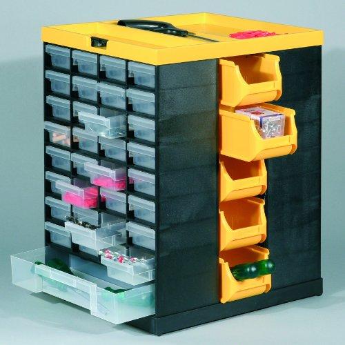 Kunststoff Tisch-Drehmagazin,VarioPlus Hobby 76, schwarz