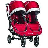 Baby Jogger 2014 City Mini GT Double Stroller, Crimson/Gray