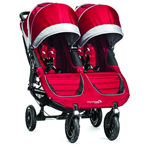 Baby-Jogger-2014-City-Mini-GT-Double-Stroller-CrimsonGray