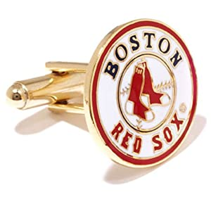 Boston Red Sox MLB Gold Plated Logo