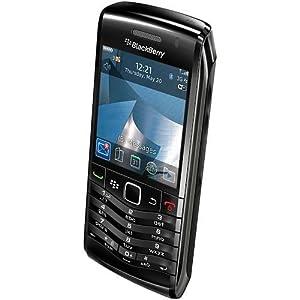 BlackBerry Pearl 3G 9105 Smartphone, Movistar,Declocage GSM, 3G tri-bande, appareil photo 3,2 mégapixels, écran haute résolution, d'une connexion Wi-Fi802.11b / g / n, trackpad optique, Bluetooth, slot microSD de mémoire, Noir