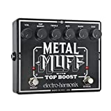 Electro-Harmonix Metal Muff Distortion with Top Boost Guitar Effects Pedal