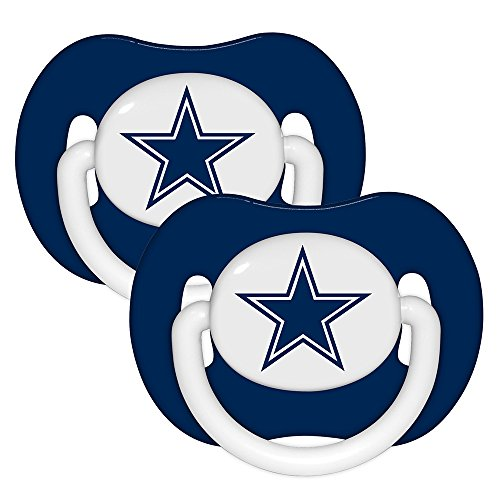 NFL Dallas Cowboys 2 Pack Pacifier - 1