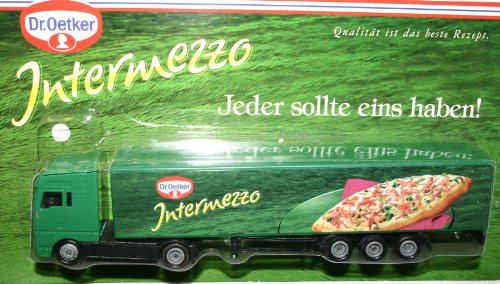 MAN Truck Dr. Oetker Intermezzo Collectors Lorry Model