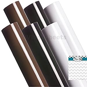 A2g315 12 X 12 Inches Brown Black White 2 Sheets Of Each