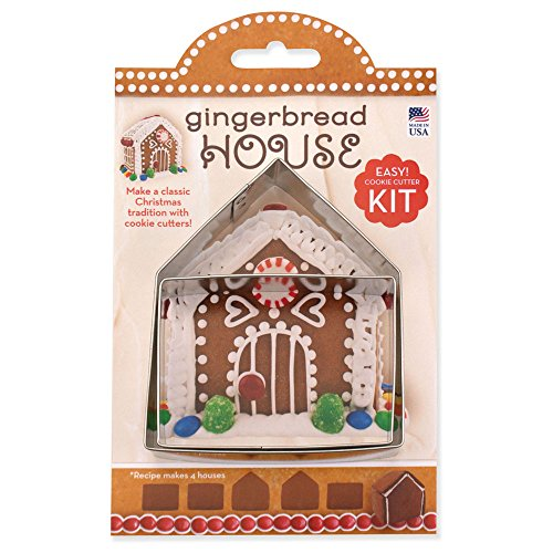 Small Gingerbread House Kit - Ann Clark - 4 Inch - US Tin Plated Steel