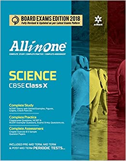 All in One Science for Class 10 Paperback – 2017 by Arihant Experts