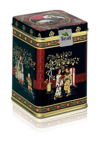 Keemun Black Std 1243 - Black Tea - In A Black Jap Caddy - 56X56X82Mm (40G)