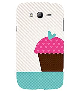 animated pink ice cream cone print 3D Hard Polycarbonate Designer Back Case Cover for Samsung Galaxy Grand Neo Plus :: Samsung Galaxy Grand Neo Plus i9060i