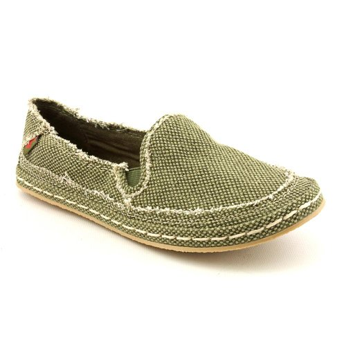 Rocket Dog Wheelie Flats Shoes Green Womens