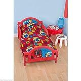 Fireman Sam Neenah Junior Toddler Duvet Cover Bed Set