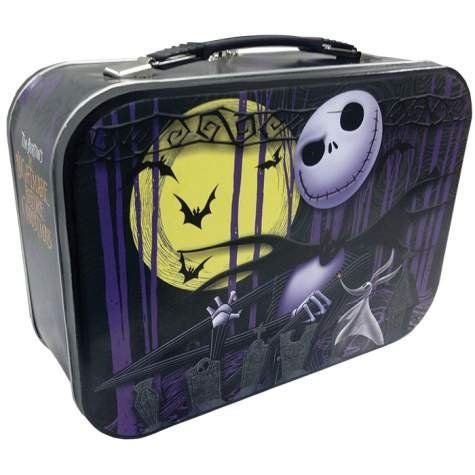 "10 Inch Nightmare Before Christmas ""Jack"" Design Collectible Tin Tote - 1"