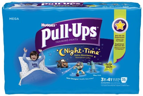 Huggies Pull-Ups Night-Time Training Pants for Boys - Mega Pack - 1